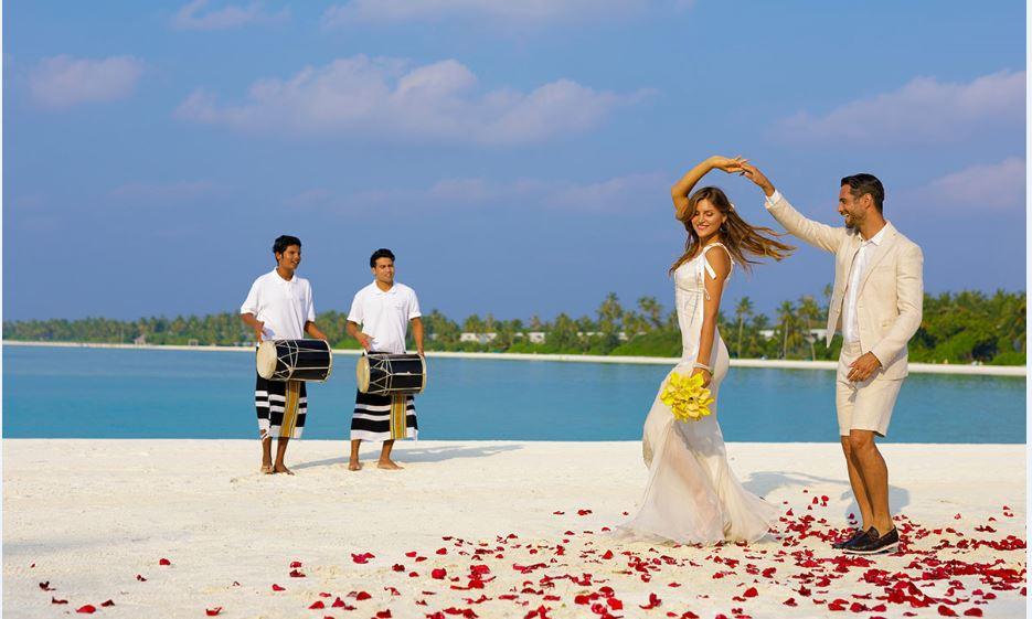 Wedding in Maldives