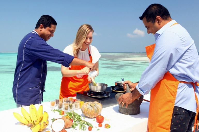 Indian food Maldives