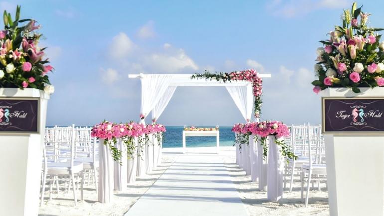 Conrad wedding Maldives